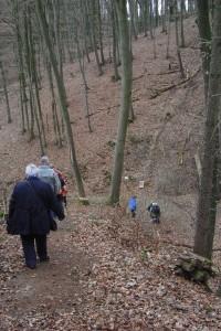 Abstieg zu Ort 15: Rehsprung